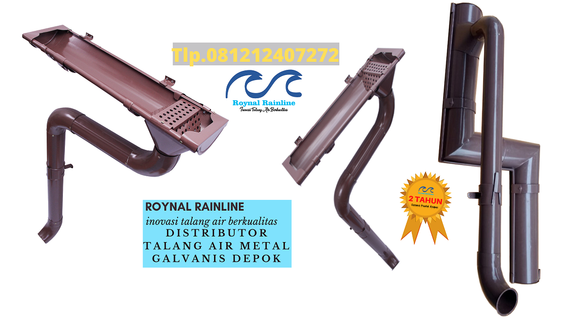 Jual Talang Air Metal Galvanis Depok 0817616194